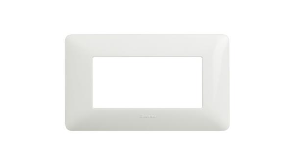 BTICINO AM4804BBN PLACCA MATIX 3 POSTI colore BN (Bianco)