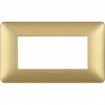 BTICINO AM4804MGL PLACCA MATIX 4 POSTI colore GL (Gold)