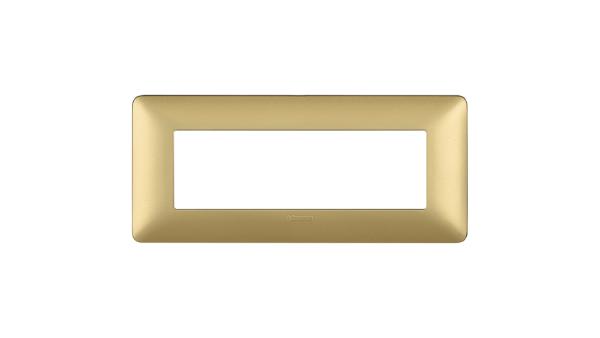 BTICINO AM4806MGL PLACCA MATIX 6 POSTI colore GL (Gold)