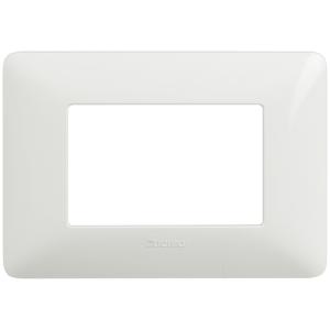 BTICINO AM4803BBN PLACCA MATIX 3 POSTI colore BN (Bianco)