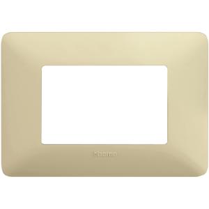 BTICINO AM4803BCD PLACCA MATIX 3 POSTI colore CD (Corda)